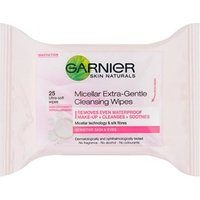 Garnier Micellar Extra-Gentle Cleansing Wipes 25 Wipes