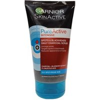 Garnier Pure Active Intensive 3-in-1 Charcoal Anti-Blackheads 150ml