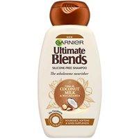 Garnier Ultimate Blends Coconut Milk & Macadamia The Wholesome Nourisher Shampoo 250ml