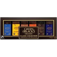 Green & Black's Organic Classic Miniatures Bar Collection 180g