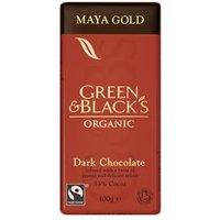 Green & Black's Organic Maya Gold Chocolate 100g