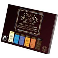Green & Black's Organic Treat Collection 6 Miniatures Bars 90g