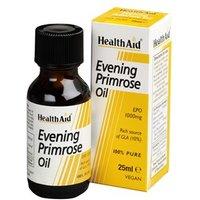 HealthAid Evening Primrose Oil - Pure EPO Oil (10% GLA) 25ml 25ml