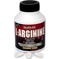 HealthAid L-Arginine 500mg Tablets 60 tabs