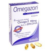 HealthAid Omegazon (Omega 3 Fish Oil) - Blister Pack 30 Caps