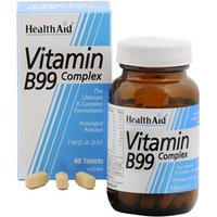 HealthAid Vitamin B99 Complex - Prolonged Release 60 tablets