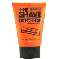 HeShaveDoc+Or Facial Wash Scrub 100ml