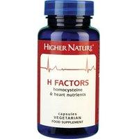 Higher Nature H Factors 180 veg caps