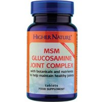 Higher Nature MSM Glucosamine Joint Complex 240 tabs