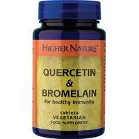 Higher Nature Quercetin & Bromelain 60 veg caps