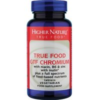 Higher Nature True Food® GTF Chromium 90 tabs