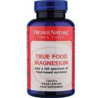 Higher Nature True Food® Magnesium 90 veg tabs