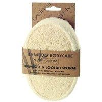 Hydréa Bamboo & Loofah Exfoliating Sponge