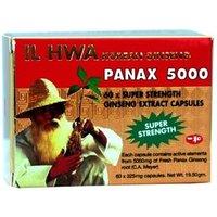 IL HWA Korean Ginseng Panax 5000 60 Caps