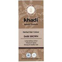 Khadi Herbal Hair Colour - Dark Brown 100g