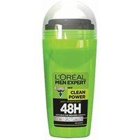 L'Oréal Paris Men Expert Clean Power 48H Deodorant Roll-On 50ml