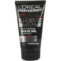 L'Oreal Paris Men Expert Shave Revolution Extreme Glide Non-Foaming Shave Gel 150ml