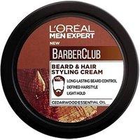 L'Oreal Paris Men Expert Barber Club Beard & Hair Styling Cream 75ml