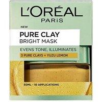 L'Oreal Paris Pure Clay Bright Mask 50ml