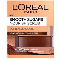 Landamp;#39;Oreal Paris Skin Expert Smooth Sugar Nourish Cocoa Face andamp;amp; Lip Scrub 50ml