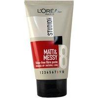 L'Oreal Paris Studio Line Matt & Messy Shine-Free Fibre Paste 150ml