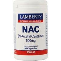Lamberts NAC 600mg 90caps