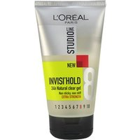 L'Oreal Paris Studio Line Invisi'Hold  Natural Clear Gel - Extra Strength 150ml
