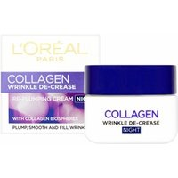 L'Oreal Paris Wrinkle De-Crease Collagen Re-Plumping Night Cream 50ml