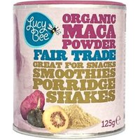 Lucy Bee Raw Fair Trade Maca Powder 125g