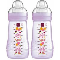 MAM Baby Bottle 270ml Pack of 2 Boys