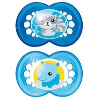 MAM Original Soothers (12m+) Boys Colours