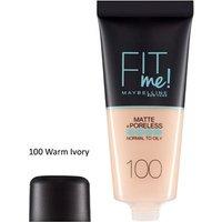 Maybelline Fit Me Matte & Poreless Foundation 250 Sun Beige