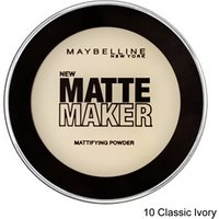 Maybelline Matte Maker Mattifying Powder 20 Nude Beige