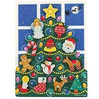 Melissa & Doug Chunky Puzzle Christmas Tree 2+ years