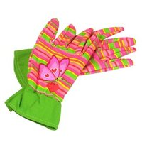 Melissa & Doug Sunny Patch Bella Butterfly Kid's Gardening Gloves 1 pair