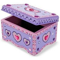 Melissa & Doug Decorate-Your-Own Jewellery Box