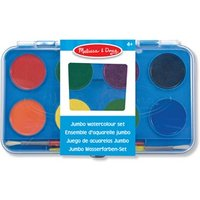 Melissa & Doug Jumbo Watercolor Set 8 Colours