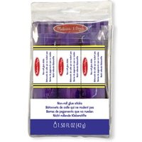 Melissa & Doug Non-Roll Glue Sticks pack of 3