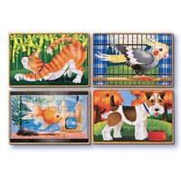 Melissa & Doug Puzzles in a Box - Pets
