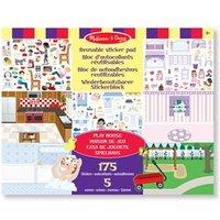 Melissa & Doug Reusable Sticker Pad - Play House 36x28cm