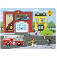 Melissa & Doug Sound Puzzle - Around The Fire Station