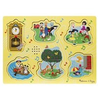 Melissa & Doug Sound Puzzle - Sing-Along Nursery Rhymes Yellow