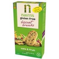 Nairn's Gluten Free Oat & Fruit Biscuit Breaks 160g