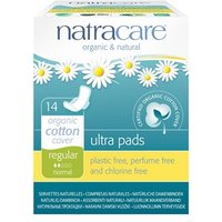 Natracare Organic & Natural Ultra Pads - Regular (with wings) 14s