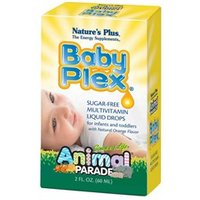 Natures Plus Animal Parade Baby Plex Sugar-Free Liquid Drops 2 oz
