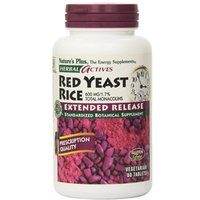 Natures Plus Herbal Actives Red Yeast Rice 600 mg Extended Release Tablets 30 Tabs