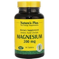 Natures Plus Magnesium 200 mg Tablets 90 Tabs