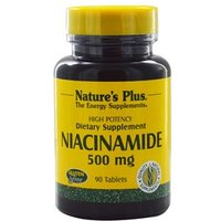 Natures Plus Niacinamide 500 mg Tablets 90 Tabs