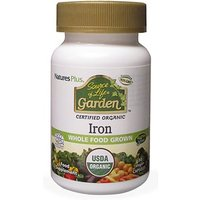 Natures Plus Source of Life Garden Iron Capsules 30 vegetable capsules