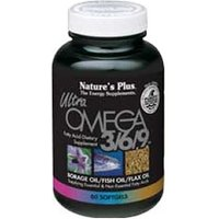 Natures Plus Ultra Omega 3/6/9 Softgels 120 Softgels